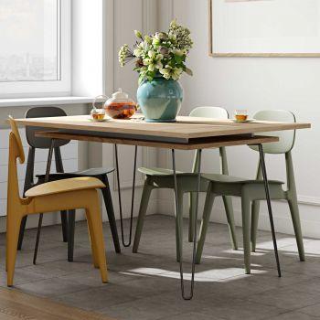 Verlengbare tafel Jiro 134/174 - eik