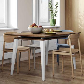 Verlengbare tafel Kim 134/174 - walnoot