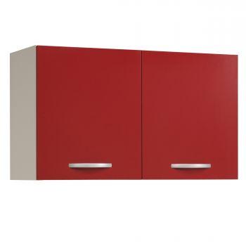 Bovenkast Eko 100 cm - rood