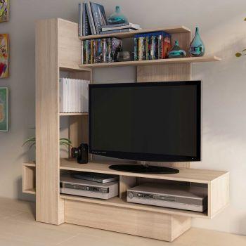 Tv-meubel Skill 140cm - bruin