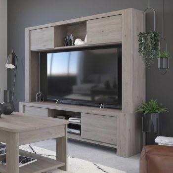 Tv-meubel Porto - grijs
