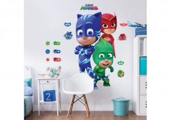 XL muursticker PJ Masks