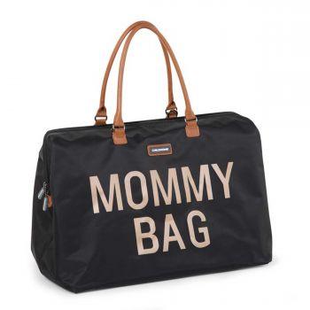 Luiertas Mommy Bag - zwart/goud