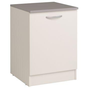 Onderkast Eko 60 cm met deur - wit
