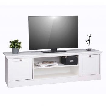 Tv-meubel Landwood 160cm landelijk - wit