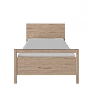 Lit simple Eliana 90x200 - chêne clair naturel
