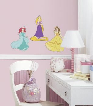 RoomMates stickers muraux - 3D Personnages Disney Princess