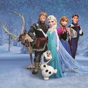 Canvas Frozen Disney