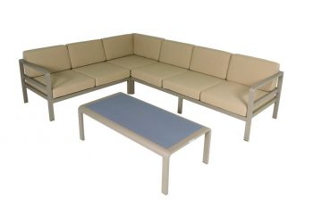 Modulaire loungeset Milton - champagne