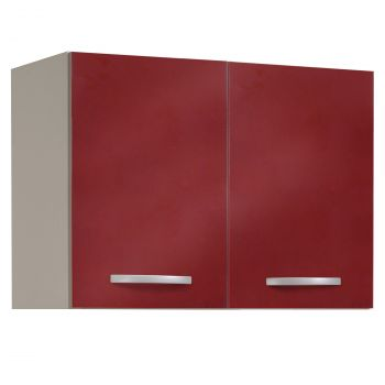 Bovenkast Spoon 80 cm - glossy red
