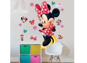 XL muursticker Minnie Mouse