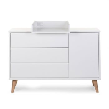Commode Retro Rio 3 tiroirs & 1 porte