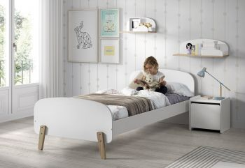 Kiddy bed 90x200 - wit