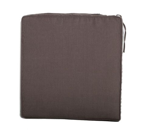 Coussin chaise de jardin empilable - taupe