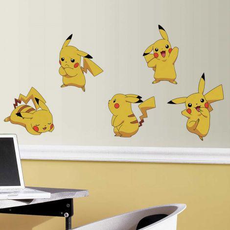 Stickers muraux Pokémon Pikachu