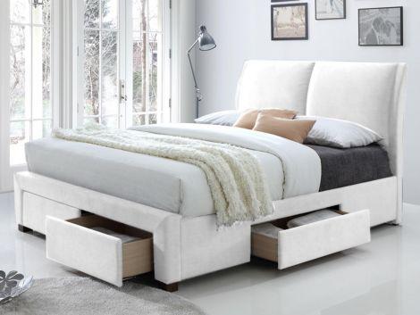 Lit Babano 160x200 - blanc