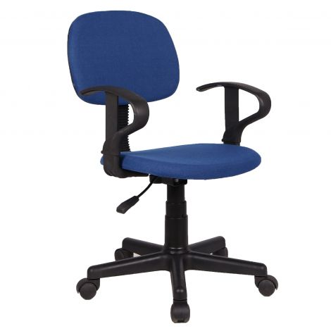 Chaise de bureau Oswald - bleu