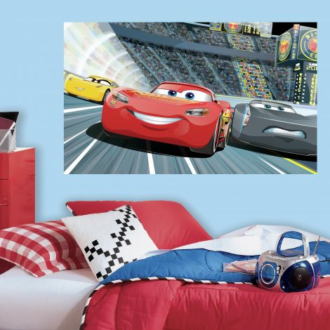Muurstickers Disney Pixar Cars 3