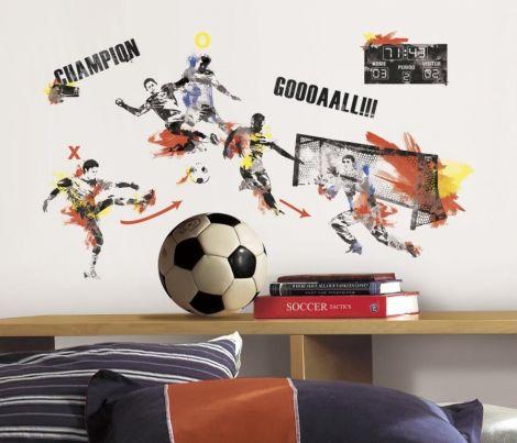 RoomMates muurstickers - Voetbalkampioen