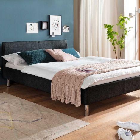 Bed Gorp 140x200 - antraciet