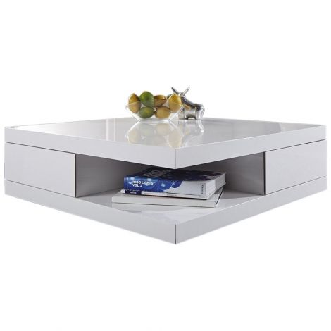 Table basse Dundee - blanc