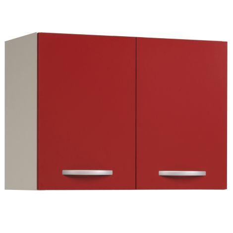 Bovenkast Eko 80 cm - rood