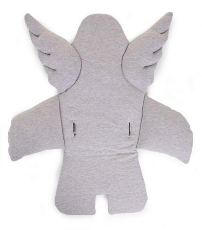 Coussin de chaise ange - gris