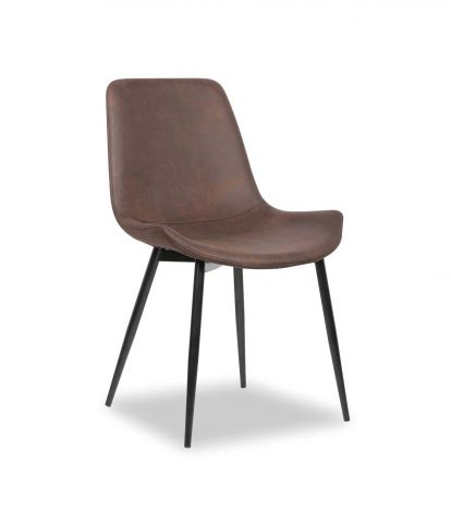 Set van 2 stoelen Monaco - bruin