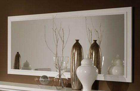 Spiegel Roma 140 cm - wit/beton