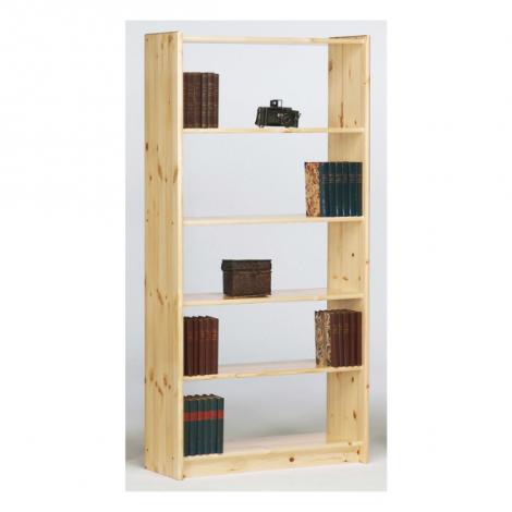 Boekenkast Olan 85cm met 4 planken - natuur