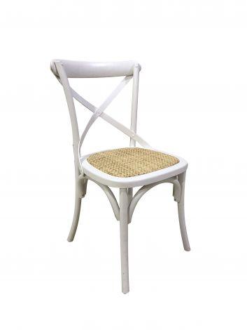 Set van 2 stoelen Erdo - wit