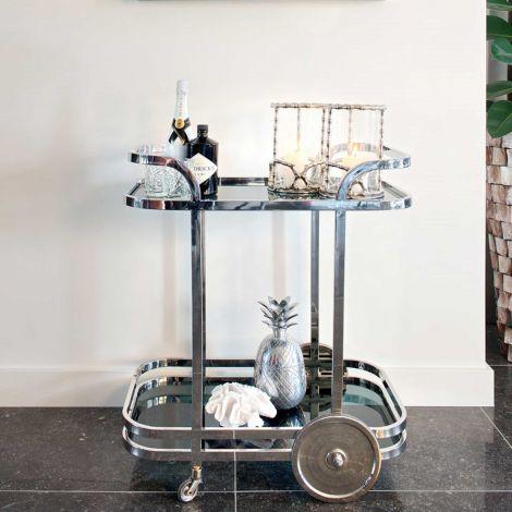 Trolley Exo - zilver/glas