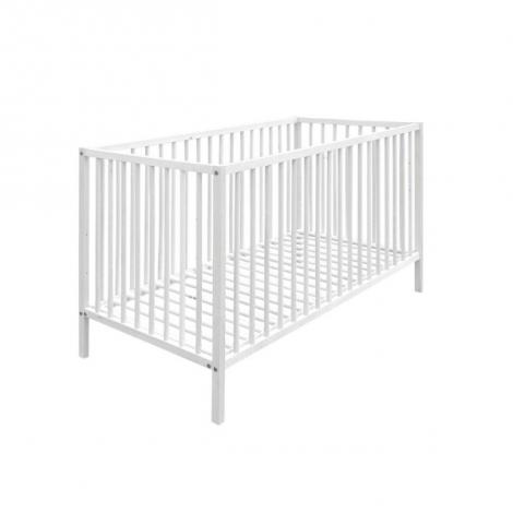 Lit bébé Proust 60x120 - blanc