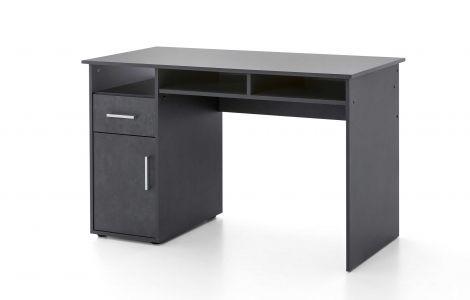 Bureau Maxi-office 125cm - grafiet
