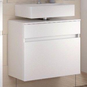 Meuble sous lavabo Brama 60cm 1 tiroir - blanc