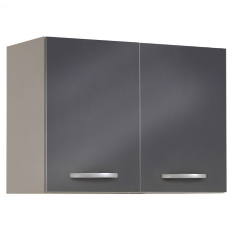 Meuble haut Spott 80 cm - glossy grey