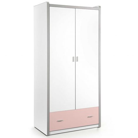 Kledingkast Bonny 2 deuren - roze