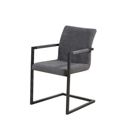 Set van 2 stoelen Britt - grijs