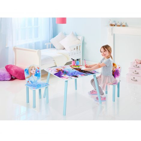 Table et 2 chaises La Reine des Neiges 2