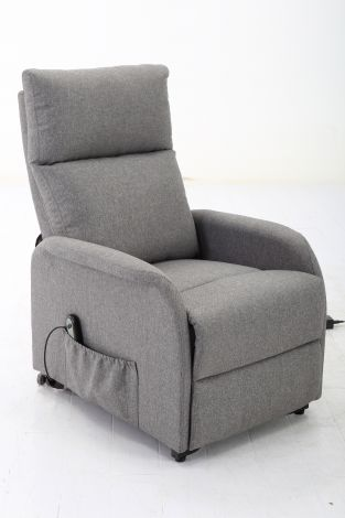 Relaxfauteuil Wales - lichtgrijs