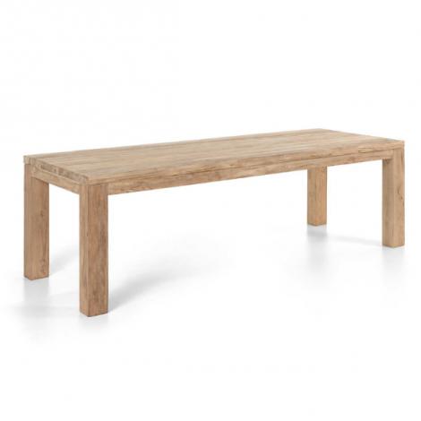 Table de jardin Darwin 300x110 - teck