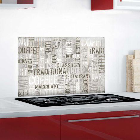 Muursticker Coffee achterwand keuken