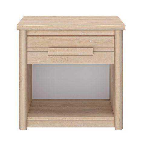 Table de chevet Morris 1 tiroir - chêne blond