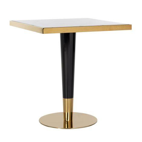Bartafel Osker 70x70 - goud/wit