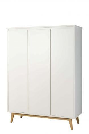 Kledingkast Pure 3 deuren - wit