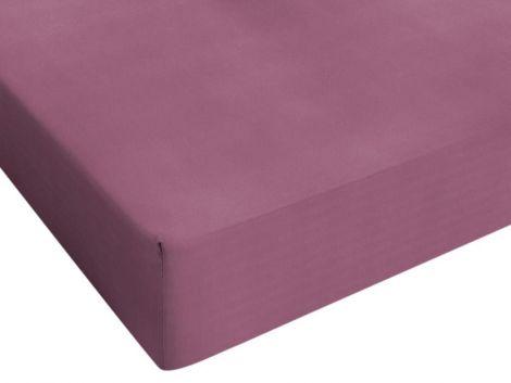 Hoeslaken Jersey roze 80/90/100x200cm