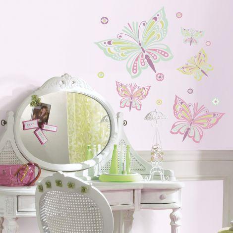RoomMates muurstickers - Waverly Vlinders