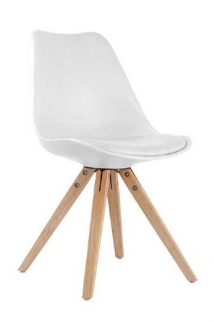 Set van 2 stoelen Lady - wit