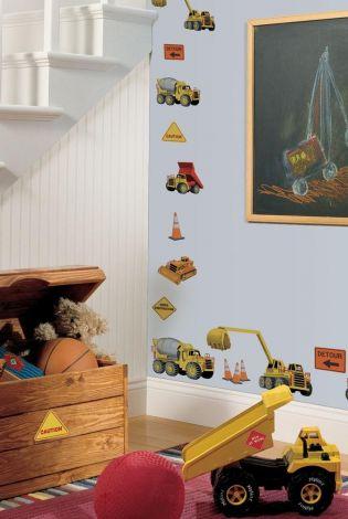 RoomMates stickers muraux - Chantier de construction