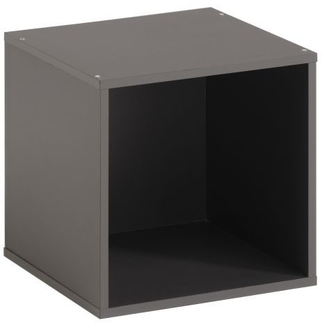 Opbergbox Kubikub met 1 vak - grijs